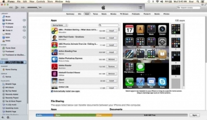 iTunes11 screen shot